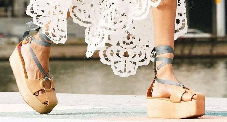 zapatos sandalias trenzadas mujer