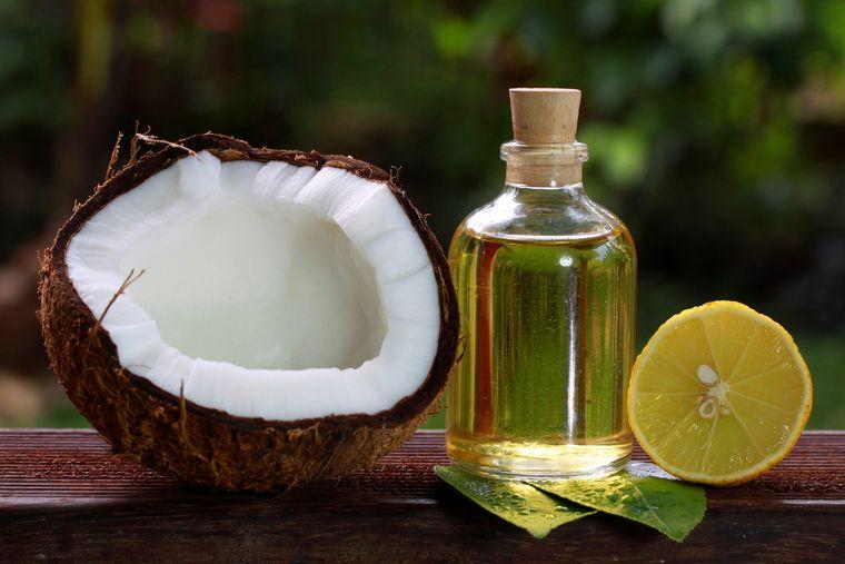 alternativa para las canas aceite coco limon