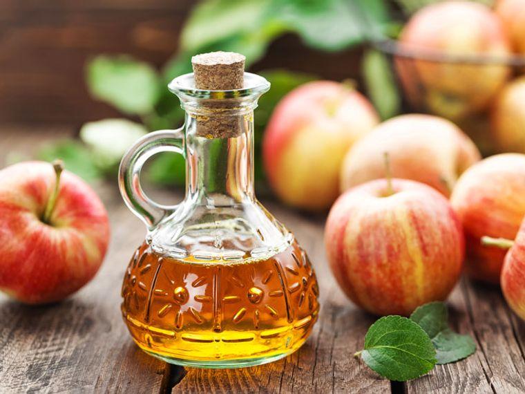 alternativa para las canas vinagre manzana
