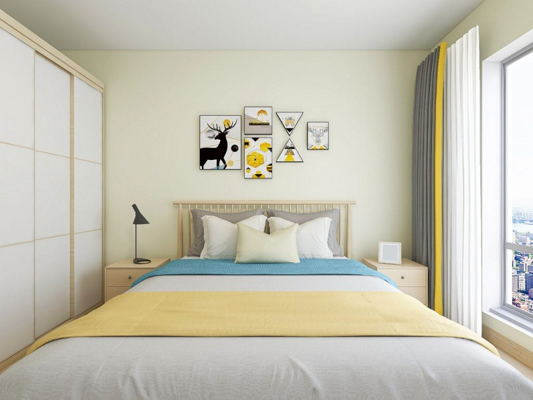 amarillo-claro-estilo-interior-hogar