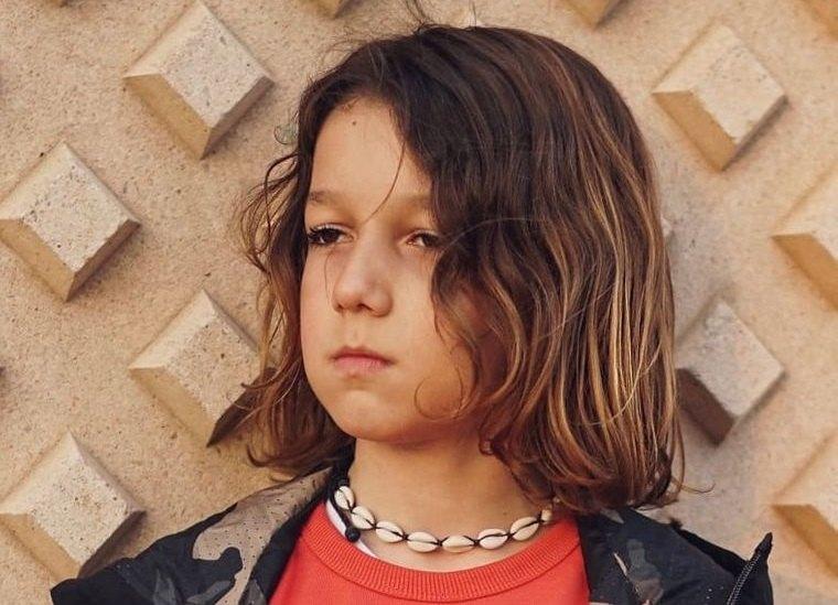 cortes de cabello largo en niños