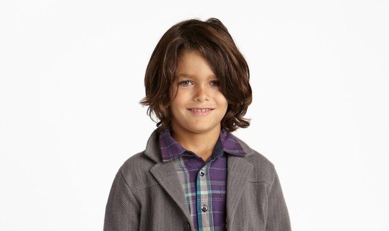 cortes de cabello largo para niños tendencia