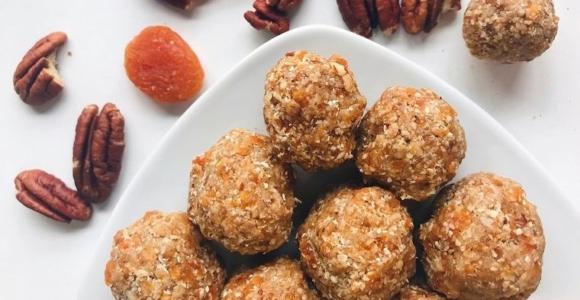 dulces veganos bolas energeticas