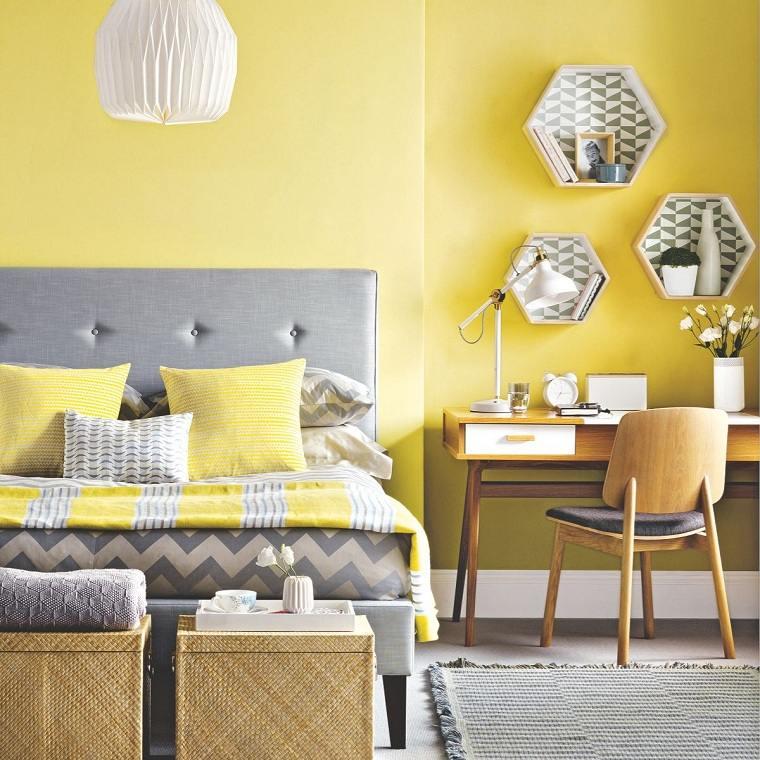 pared-dormitorio-color-amarillo-estilo