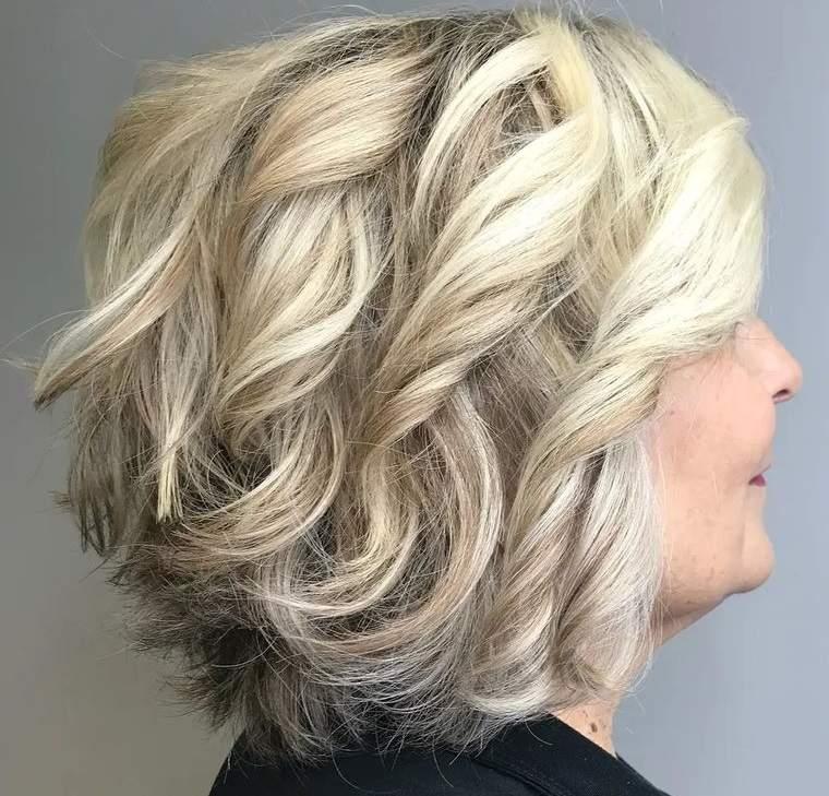 peinados modernos mujeres mayores