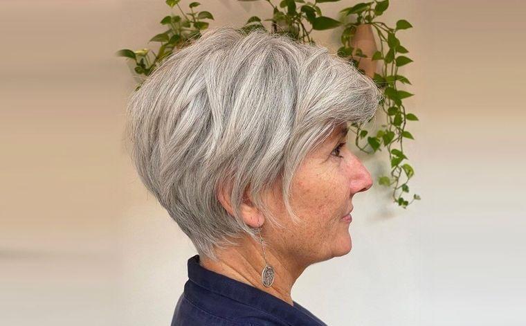 peinados modernos para mujeres mayores