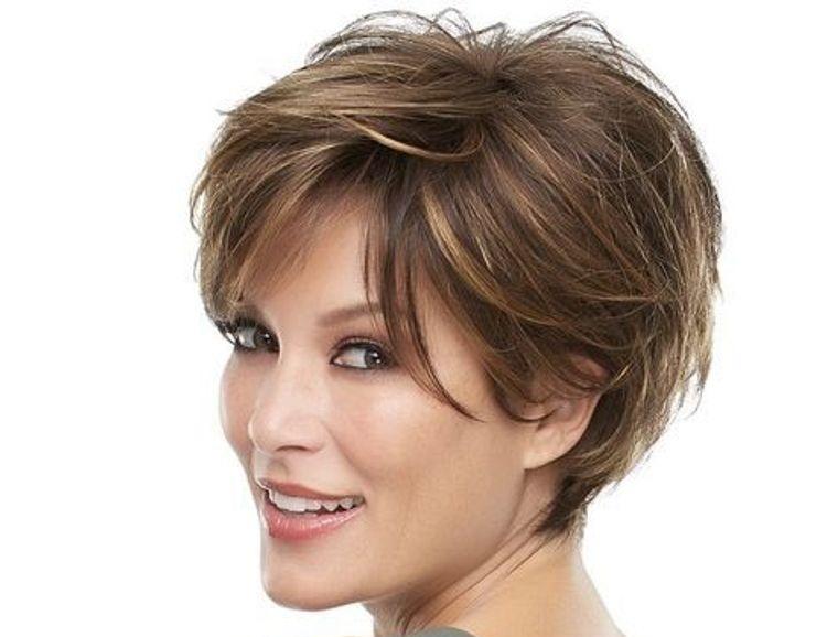 peinados modernos pixie largo