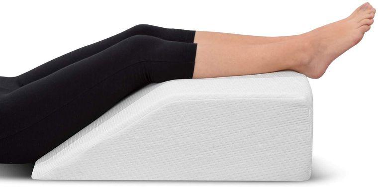 retención de líquidos piernas arriba