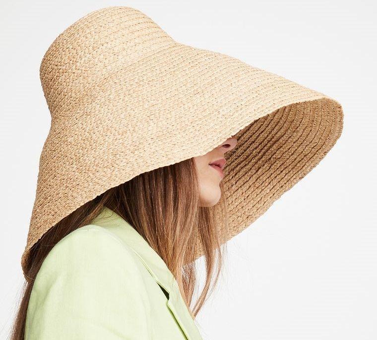 sombreros de mujer ala larga