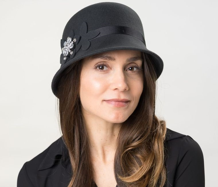 sombreros de mujer cloche