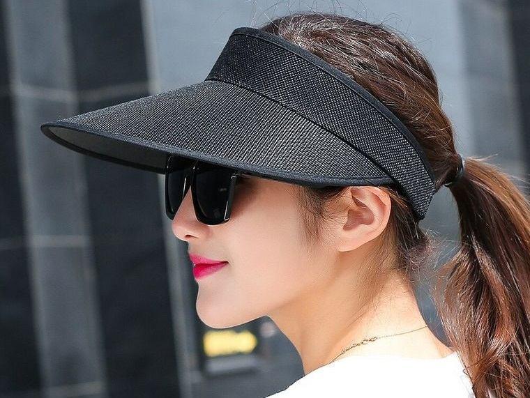 sombreros de mujer diseño visera