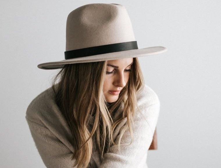 sombreros de mujer estilo fedora