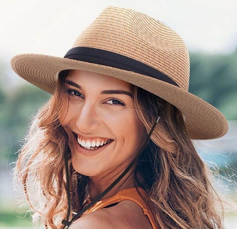 sombreros de mujer estilo panama