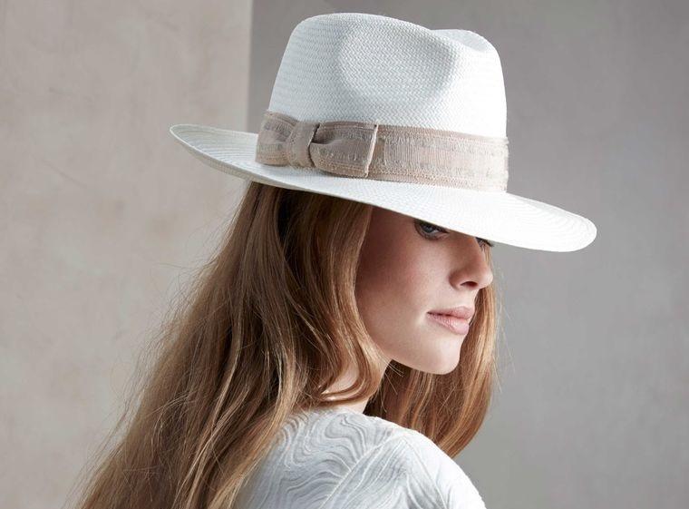 sombreros de mujer panama