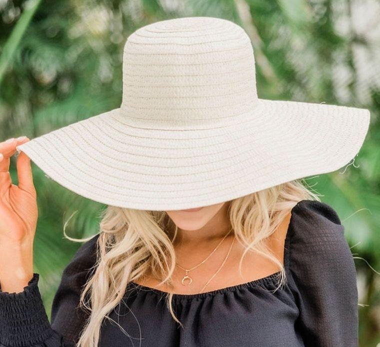 sombreros de mujer proteccion del sol