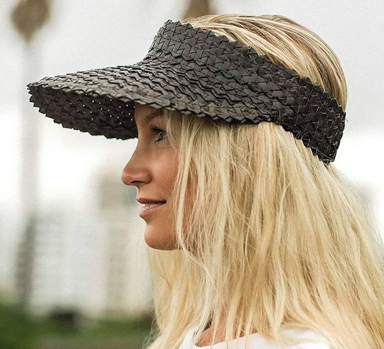 sombreros de mujer visera