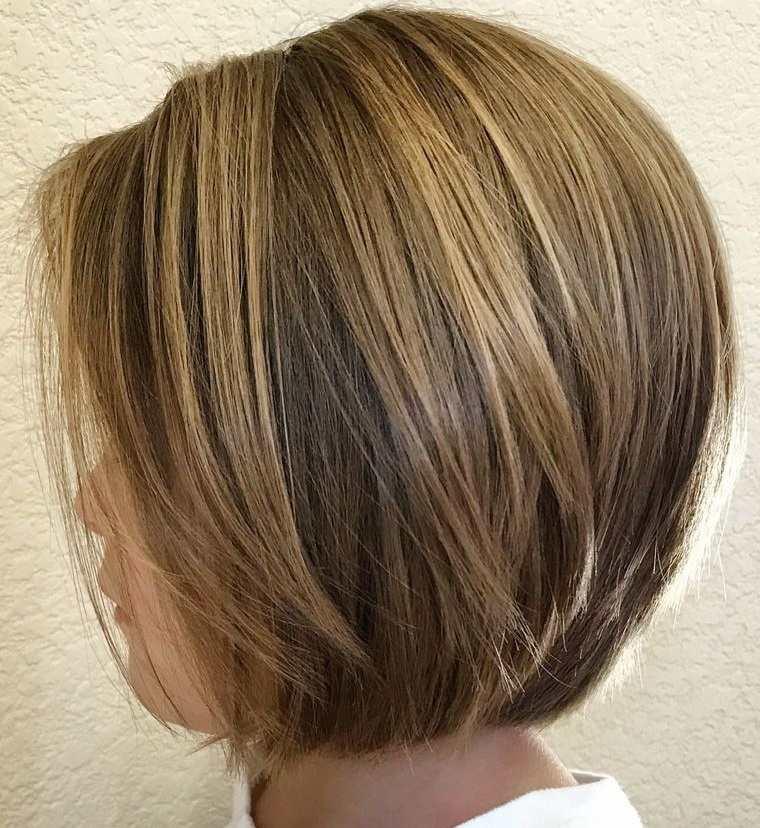 cortes de pelo de niña modernos bob capas