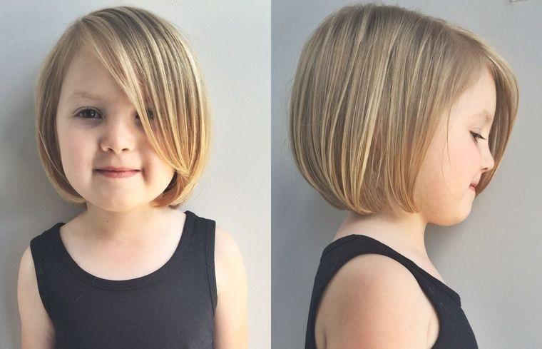 cortes de pelo de niña modernos bob corto