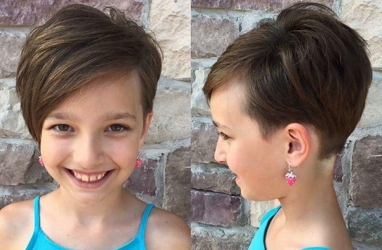 cortes de pelo de niña modernos duendecillo
