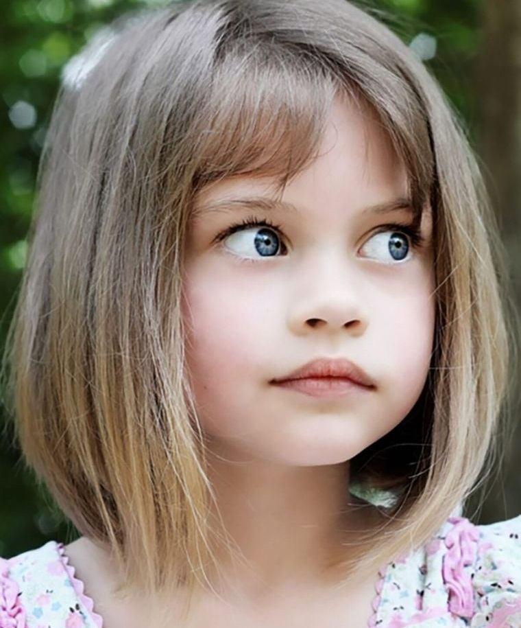 cortes de pelo de niña modernos facil mantenimiento