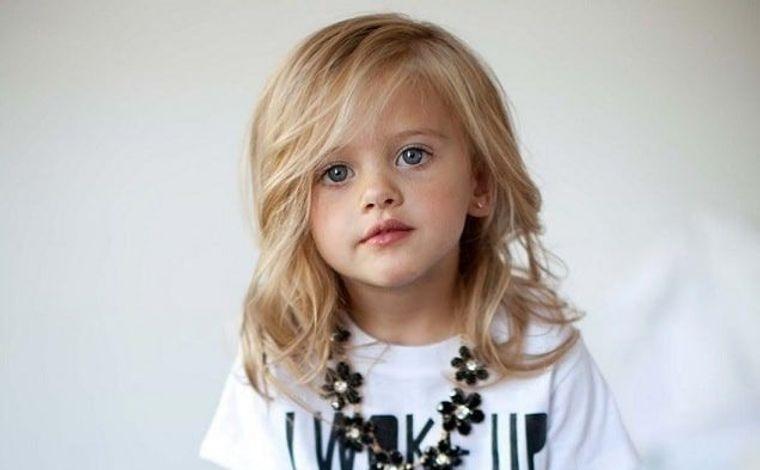 cortes de pelo de niña modernos largo