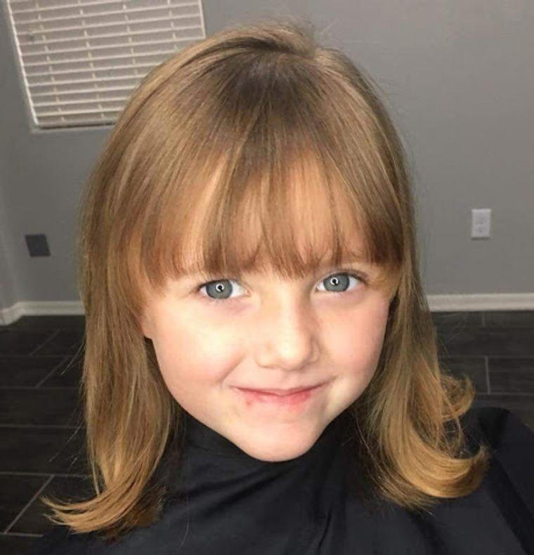 cortes de pelo de niña modernos puntas suaves