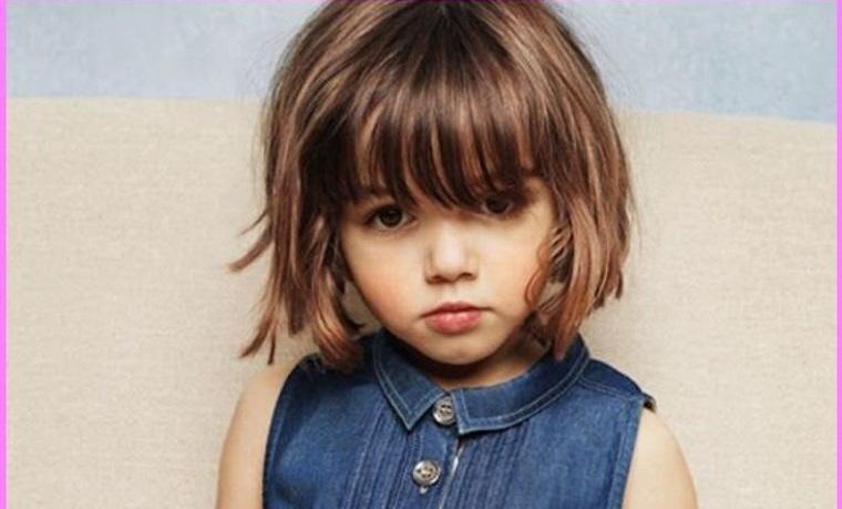 cortes de pelo de niña modernos texturizado