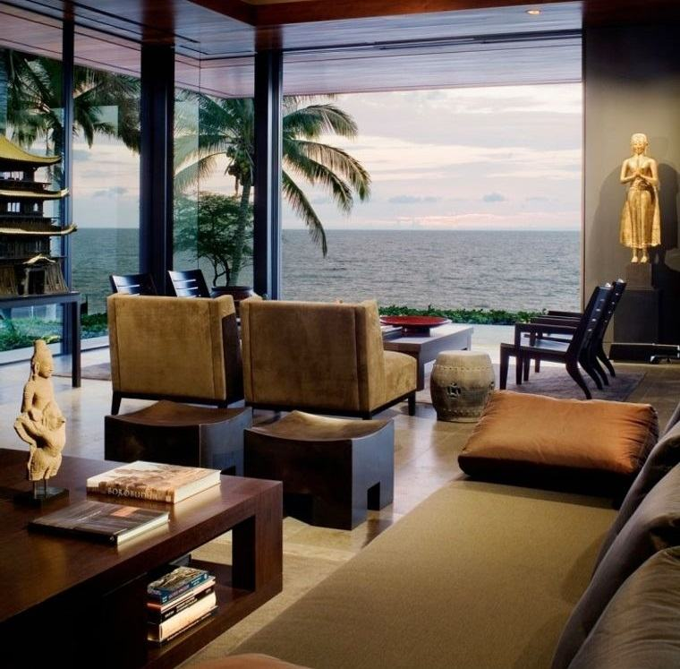 decoración balinesa interior hogar