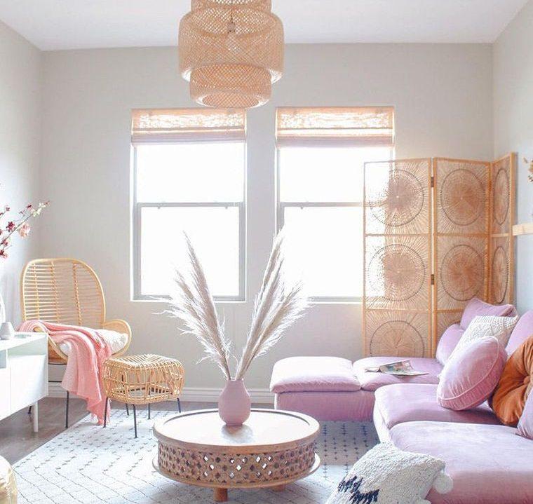 decoración de interiores artesania natural