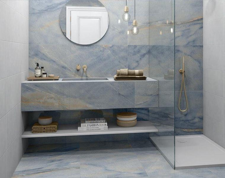 decoración de interiores baño moderno