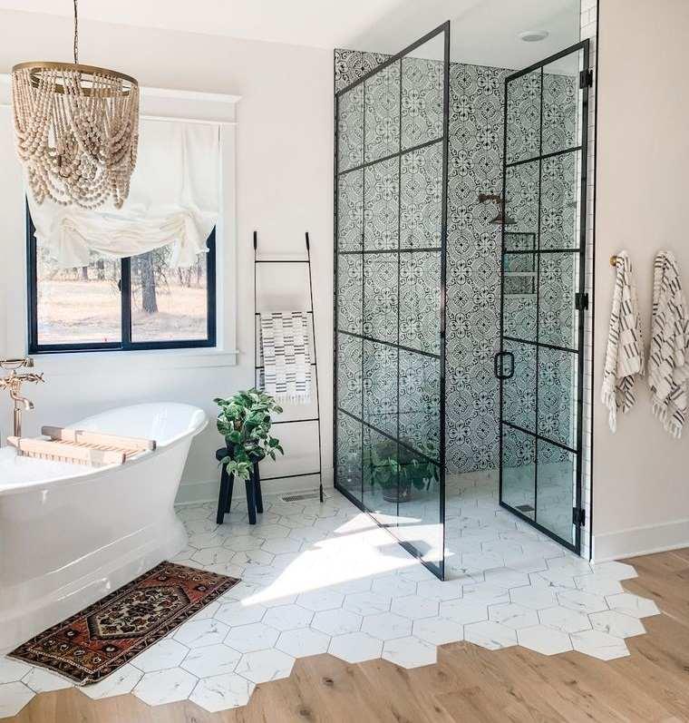 decoración de interiores baño original