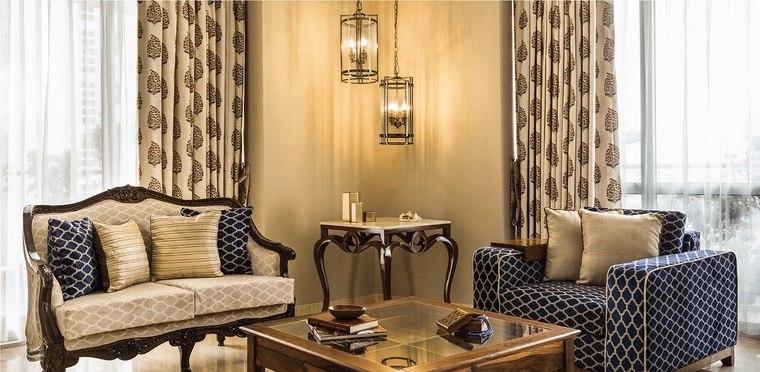 decoración de interiores estampado geometricos