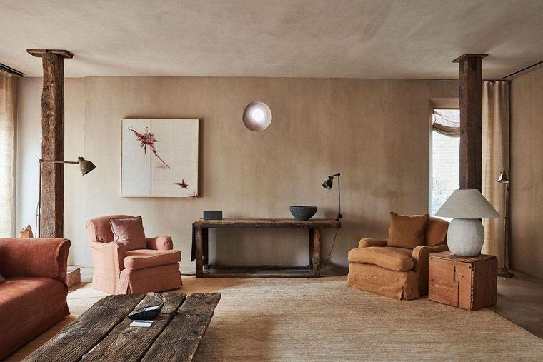decoración de interiores estilo wabisabi