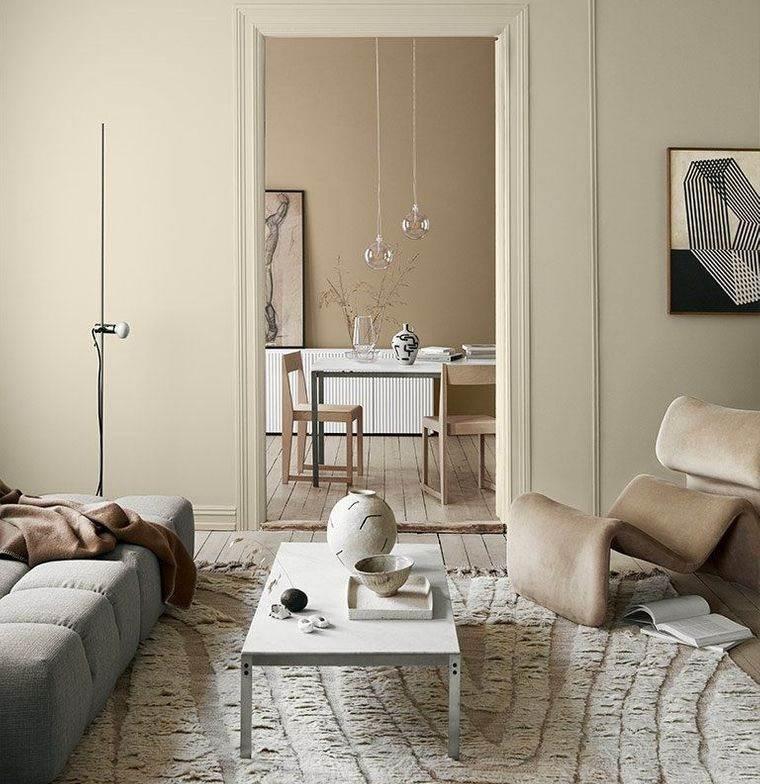 decoración de interiores neutros