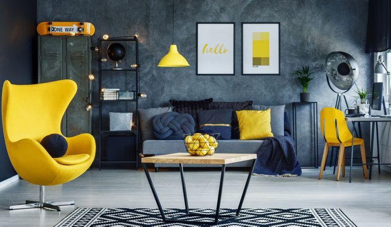 decoración de interiores pantone 2021