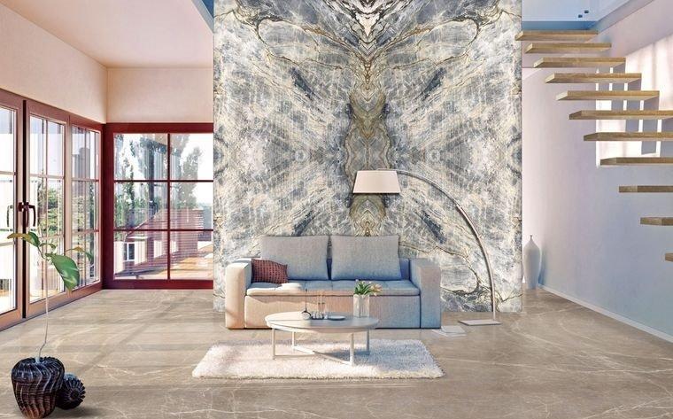 decoración de interiores papel tapiz
