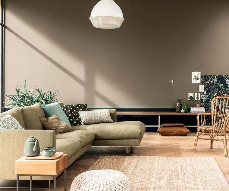 decoración de interiores sala de estar comoda