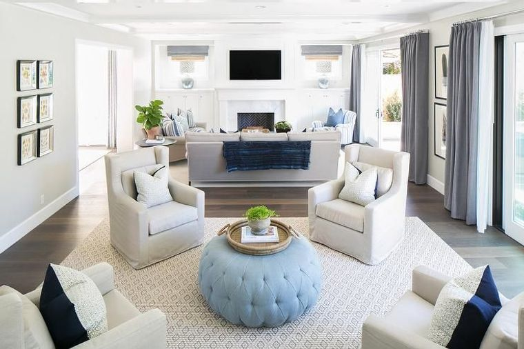 decoración de interiores salas de estar