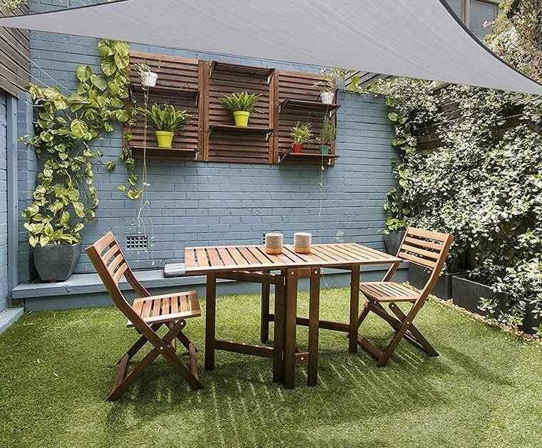 decoración de jardines con poco espacio