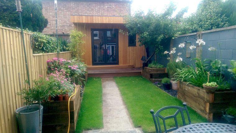 decoración de jardines espacio pequeño