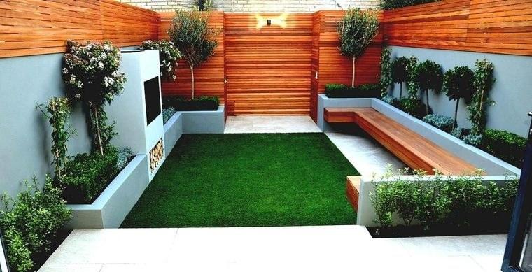 decoración de jardines estilo minimalista