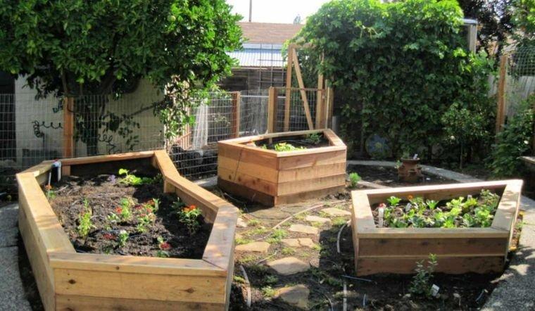 decoración de jardines formas originales