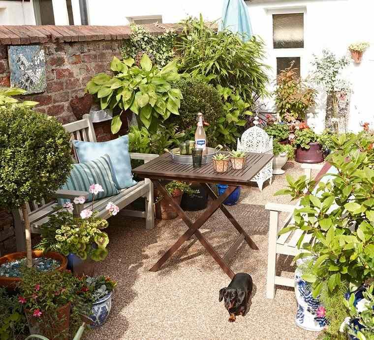 decoración de jardines para compartir