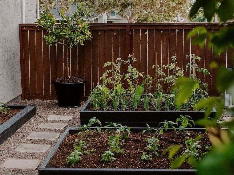 decoración de jardines para cultivo