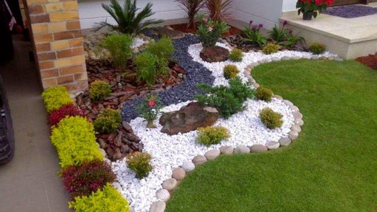 decoración de jardines pequeño rincon