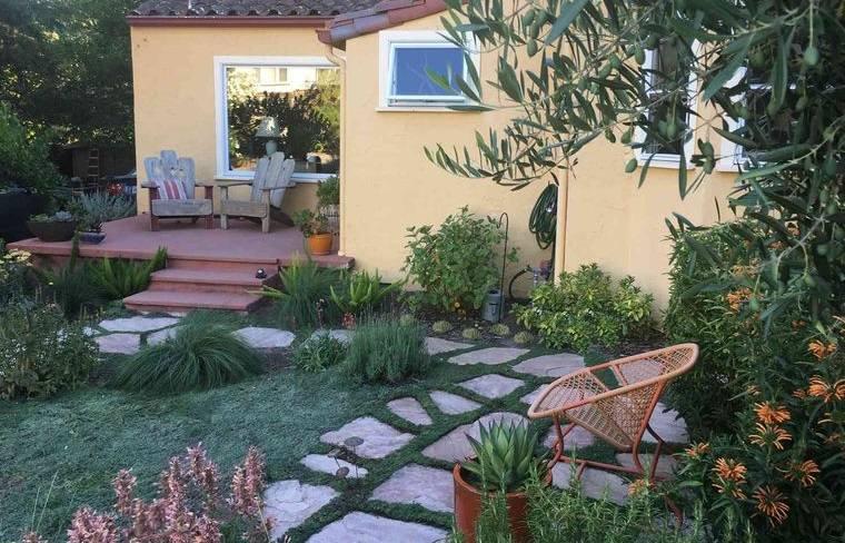 decoración de jardines relajantes