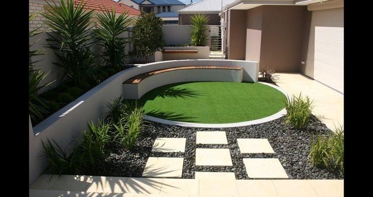 decoración de jardines sencillos
