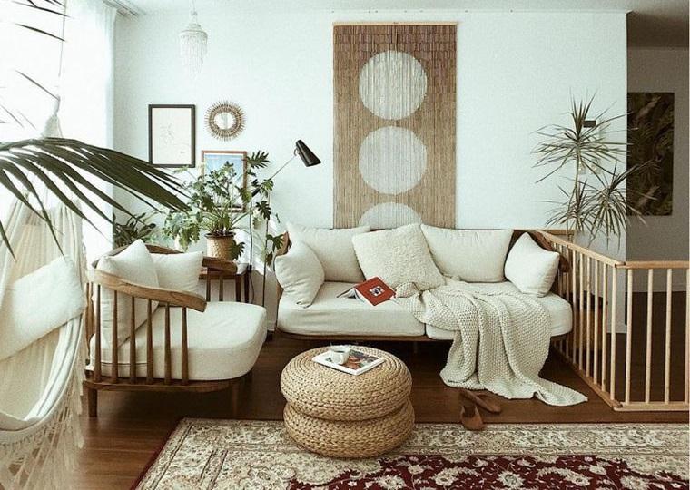 decoración natural con textura