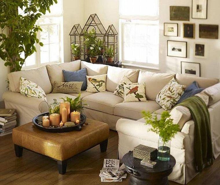 decoración natural elementos en tendencia