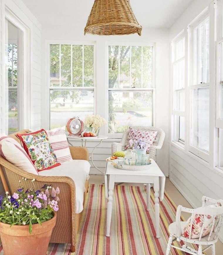 decoración natural espacio pequeño